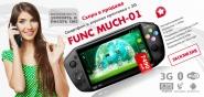 Новый смартфон + игровая приставка Func Much-01 с 3G