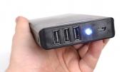Батарейки с тремя USB портами